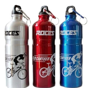 Aluminum water bottles silk screen printing